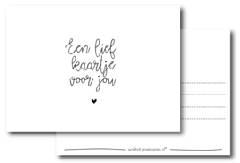 Een lief kaartje voor jou