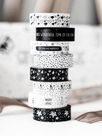 Masking tape Dots white