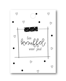 Cadeaulabel | Een knuffel voor jou!