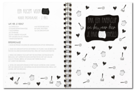 Receptenboek | Invulboek | Licht beschadigd | hard cover