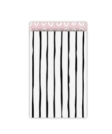 Kadozakjes striped pink (5 stuks)