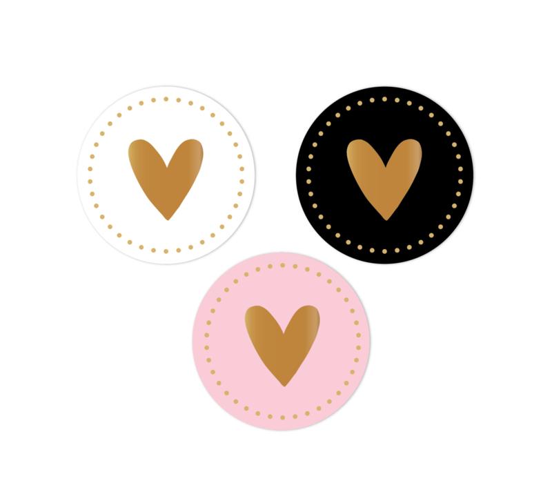 Stickerset Hearts | 18 stuks