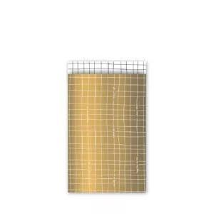 Kadozakjes Grid Goud (5 stuks)