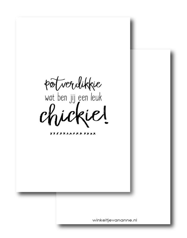 Leuk chickie