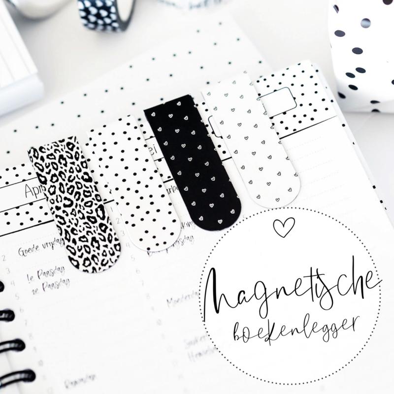 Magnetische boekenleggers | set van 2