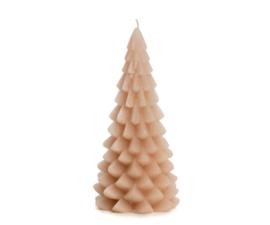 Rustik Lys Kerstboom kaars | groot skin