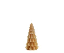 Rustik Lys Kerstboom kaars  | klein fudge