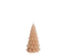 Rustik Lys Kerstboom kaars  | klein skin
