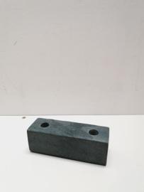 Broste kandelaar M marmer | grijs