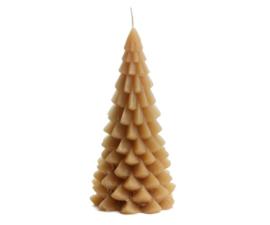 Rustik Lys Kerstboom kaars | groot fudge