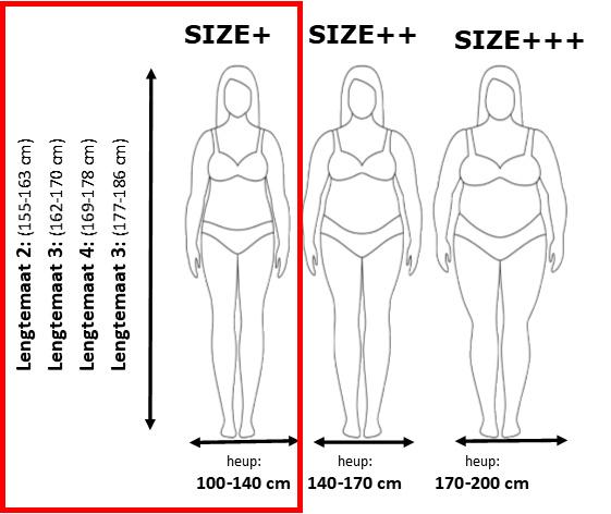 40 denier Lycra  panty, size + (42-50), in lengtematen