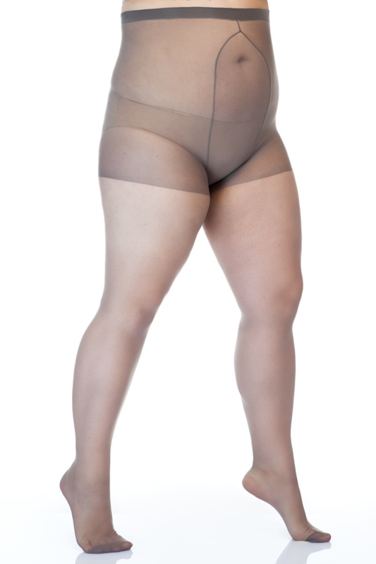 20 den. panty size++ (52-60) in lengtematen, buikje
