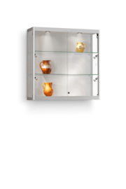 Wall cabinet 115 1000x300x1000 silver with side lights