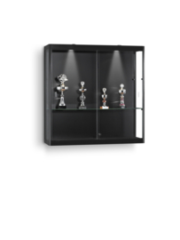 Wall display cabinet MPC 1000 black