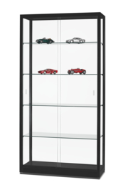 Glass display cabinet  WME 1000 black