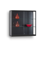 Wall display cabinet WMS 1000 black