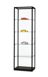 Glass display cabinet WMS 600 black