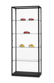 Glass display cabinet  WMS 800 black