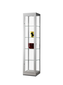 Dustproof glass display cabinets