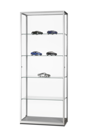 Glass display cabinet  WMS 800 silver