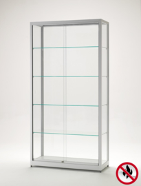 Fire class B1 display cabinet BME 1000 silver