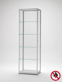 Fire class B1 display cabinet BMS 600 silver