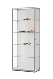 Glass display cabinet  111 800 with LED strips
