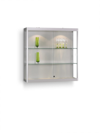 Wall display cabinet MPC 1000 silver