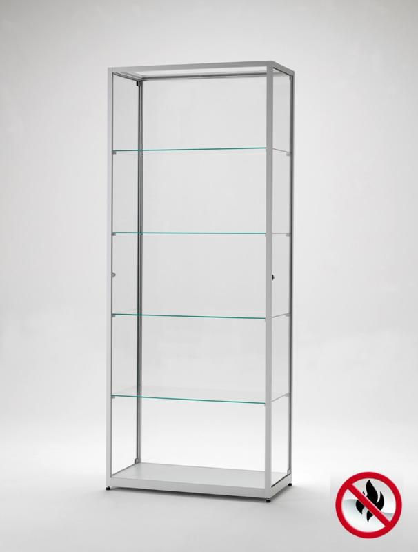 Klein Glazen Vitrinekastje.Glazen Vitrinekast Vitrine Glazenkast Brandklasse B1 Extra