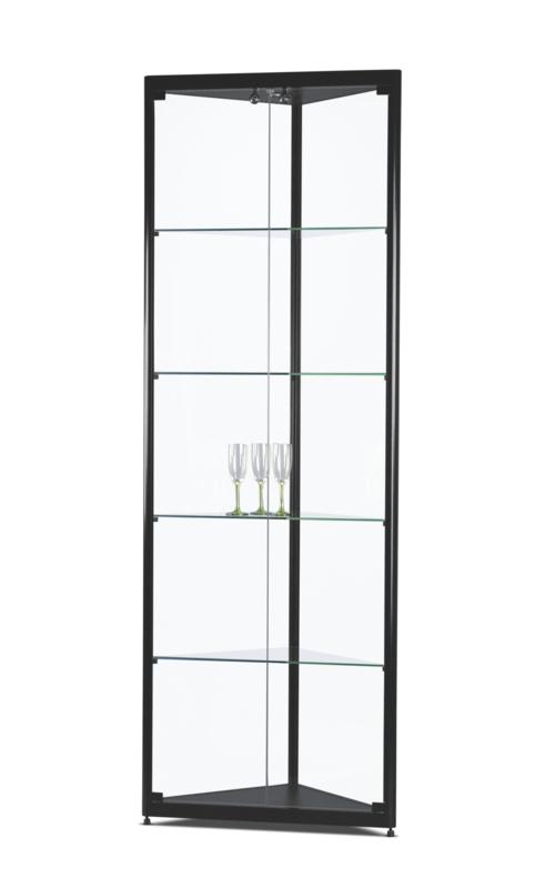 Corner display cabinet MPC 500 black