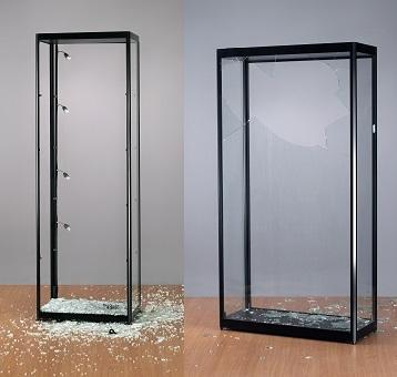 Kleine Glazen Vitrinekastjes.Vitrinekast Glazen Vitrinekast