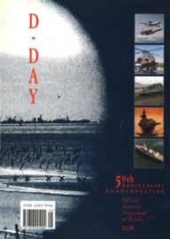 D-Day 50th Anniversary Commemoration - Official Souvenir Programme of Events