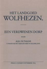 Het landgoed Wolfhezen (2e-hands)
