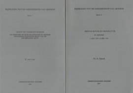 Bijdragen tot de geschiedenis van Arnhem (deel 1 en deel 2)