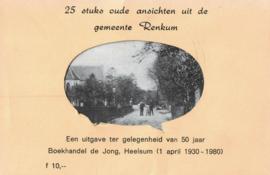 25 Oude ansichten gemeente Renkum (2e-hands)