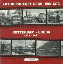 Autobusdienst Gebr. van Gog - Rotterdam-Gouda 1923-1967