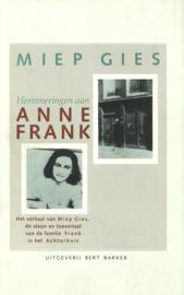 Herinneringen aan Anne Frank - Het verhaal van Miep Gies, de steun en toeverlaat van de familie Frank in het Achterhuis