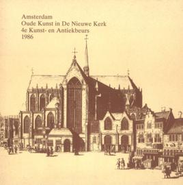 Amsterdam - Oude Kunst in  de Nieuwe Kerk 1986 (2e-hands)
