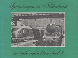Spoorwegen in Nederland in oude ansichten deel 2 (2e-hands)