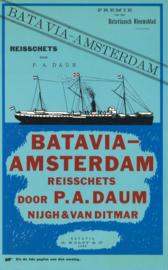 Batavia-Amsterdam reisschets