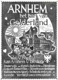 Gelderland - Officiële propaganda-uitgave m.m.v. Provinciaal Bestuur Gelderland, VVV's e.a.