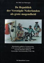 De Republiek der Verenigde Nederlanden als grote mogendheid