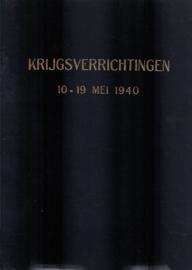 Krijgsverrichtingen der Koninklijke Landmacht 10-19 mei 1940
