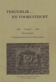 Terugblik en vooruitzicht - Honderd jaar Gereformeerde Kerk te Wageningen (2e-hands)