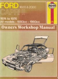 FORD CAPRI II 1600 & 2000 - 1974-1976 All models 1593cc 1993cc