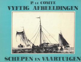 Vijftig afbeeldingen schepen en vaartuigen (2e-hands)
