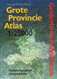 Grote provincie atlas - Gelderland/Achterhoek