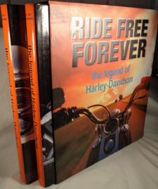 Ride Free Forever - The legend of Harley-Davidson, 2 delen in slipcase,  z.g.a.n.