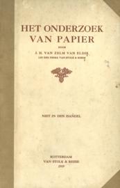 Het onderzoek van papier (2e-hands)