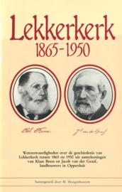 Lekkerkerk 1865-1950